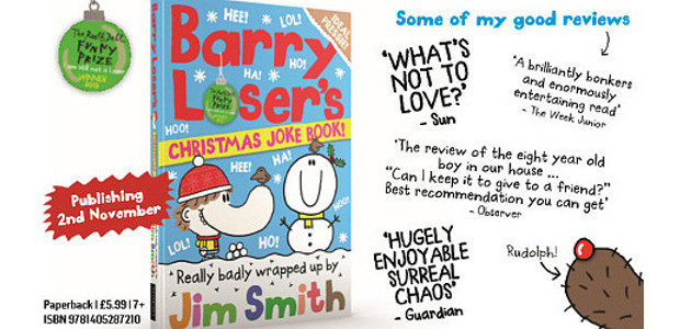 Barry Loser's Christmas Joke Book Really badly wrapped up by […]