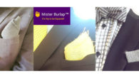Mister Burlap Pocket Squares! Accessories for Rugged yet Refined men! […]