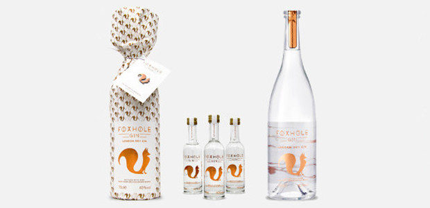Foxhole Gin, distilled with a spirit made using English grapes […]
