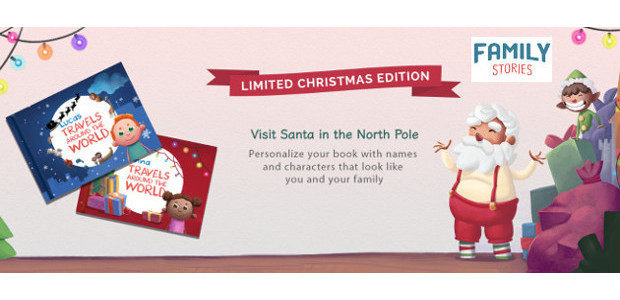 Family Stories Personalised Book Christmas Edition is now Available to […]