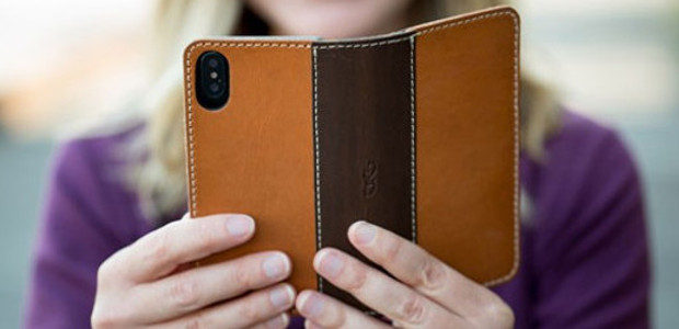 Vegetable Tanned Leather Heritage iPhone X Case.www.padandquill.comBlank slates for your […]