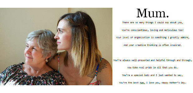 More Than Words…… when a Mum receives a poem, written […]