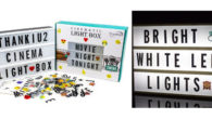 Cinema Light Box By ThanKiu2: Vintage Cinematic Light Up Message […]