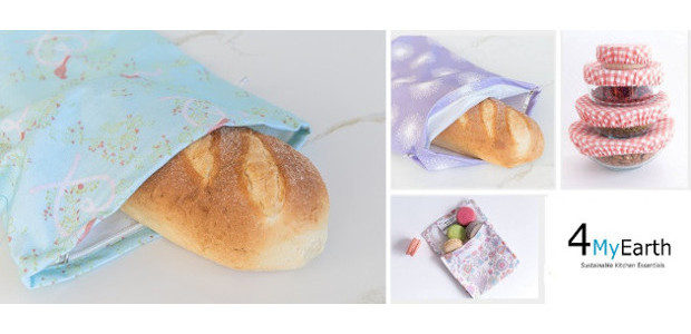 Plastic free food covers, bread bags, lunch boxes, produce bags […]