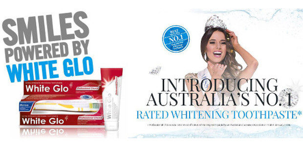 White Glo the Professional Choice Toothpaste to get that smile […]