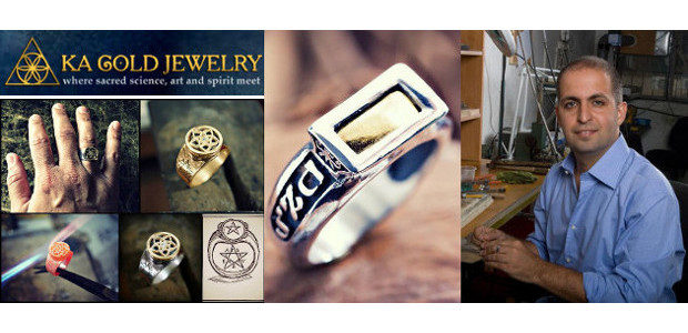 For Father's Day. www.ka-gold-jewelry.com The Five Metals Ring… […]