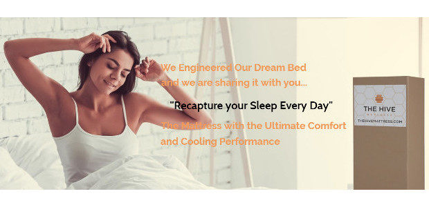 The Hive Mattress. www.thehivemattress.com. Suffering from back pain…. getting the […]