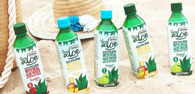 Say Aloe isn't your average drink. Real pieces of aloe […]