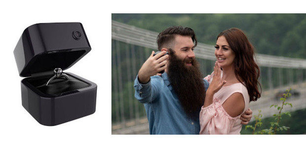 Wow! What a great idea! Engagement Cam.. the Wedding proposal […]