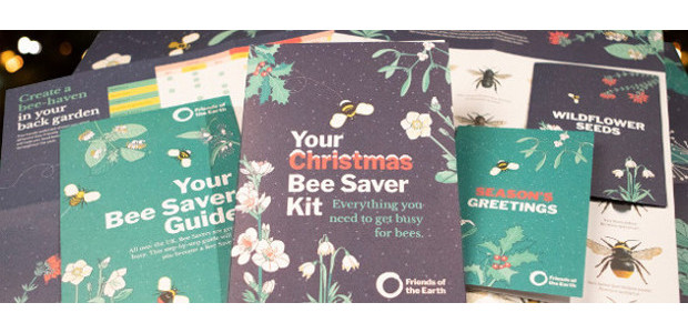 Help bees this Christmas with Friends of the Earth's festive […]