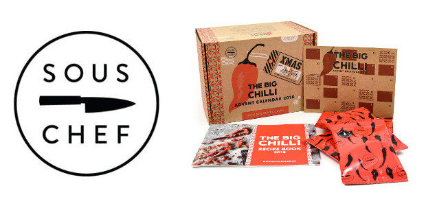 The Big Chilli Advent Calendar (£29.95) www.souschef.co.uk Make your own […]