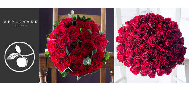 20% off all Valentine's Day bouquets at Appleyard London Code […]
