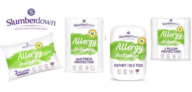 The NEW Slumberdown brand relaunches its Allergy Protection range >> […]