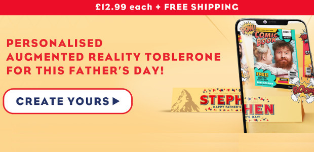 MAKE THIS FATHER'S DAY EXTRA PERSONAL WITH TOBLERONE www.mytoblerone.co.uk FACEBOOK […]