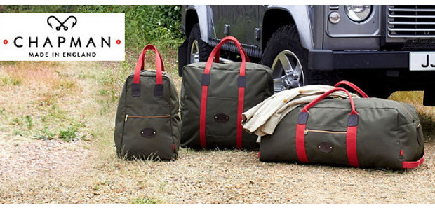 www.chapmanbags.com . Canvas and Leather Bags made in England by John […]
