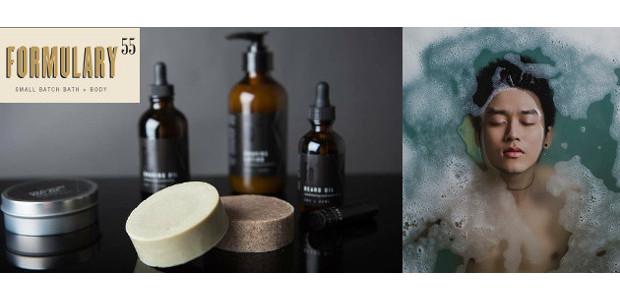Formulary55 . Modern Men's Care Line . Small Batch Bath […]