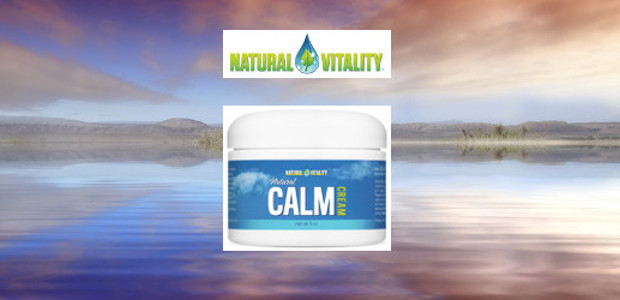 "NEW! ""Natural Calm Cream"". It can relieve aches and pains […]"