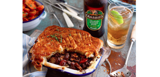 Winter Warmer! Crabbie's Steak Pie, recipe! Crabbie's Steak Pie Ingredients […]