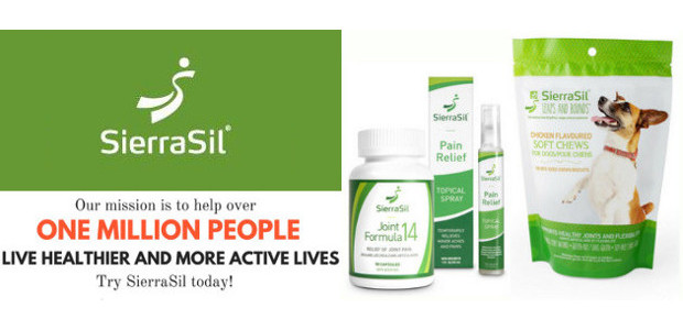 SierraSil Products Provide Natural Joint Health Care in Capsules & […]