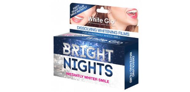 White Glo Bright Nights Teeth Whitening Strips www.whiteglo.com FACEBOOK | […]