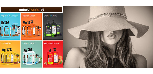 Natural World is an innovative haircare brand,and is