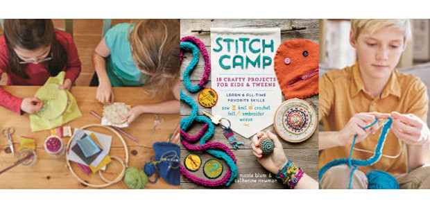 Made by Hand! Kids Learn 6 Time-Tested Fiber Crafts by Nicole […]