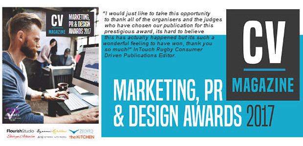 """SO EXCITING! We WON!"". InTouch Rugby Magazine Best Sports Promotion […]"