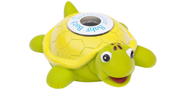 The Tortoise Toy Turtle + Bath Thermometer for Baby Buy […]