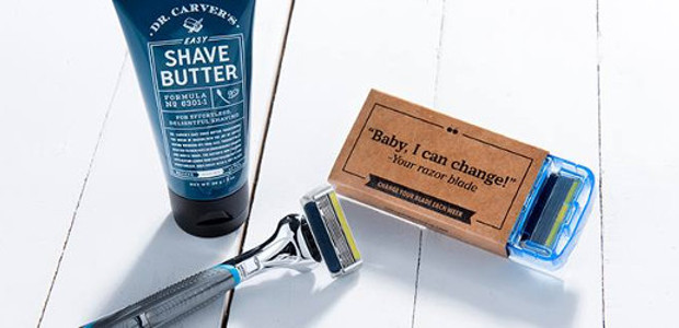 HERE TO SHAVE THE DAY – DOLLAR SHAVE CLUB IS […]