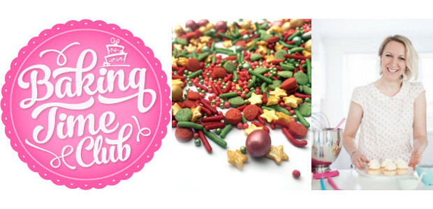 Sprinkle Bell Rock are perfect for festive cake decoration! www.bakingtimeclub.com […]