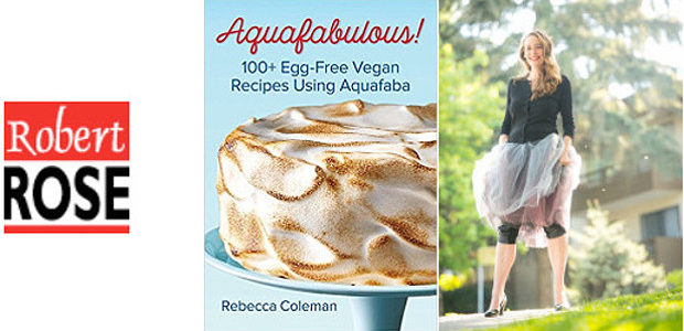 AQUAFABULOUS! 100+ Egg-Free Vegan Recipes Using Aquafaba (Bean Water) www.robertrose.ca […]