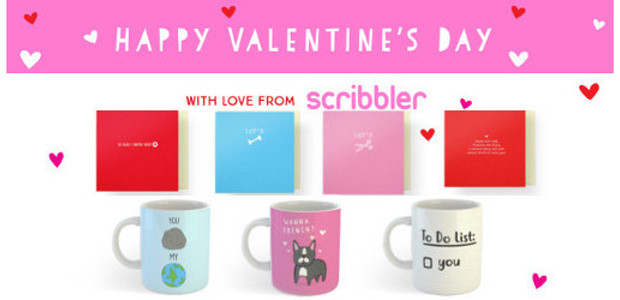 HAPPY VALENTINE'S DAY with love from scribbler all instore!!!!www.scribbler.comCUPID ONLY […]