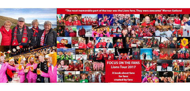 'FOCUS ON THE FANS: Lions Tour 2017' BOOK NOW AVAILABLE […]