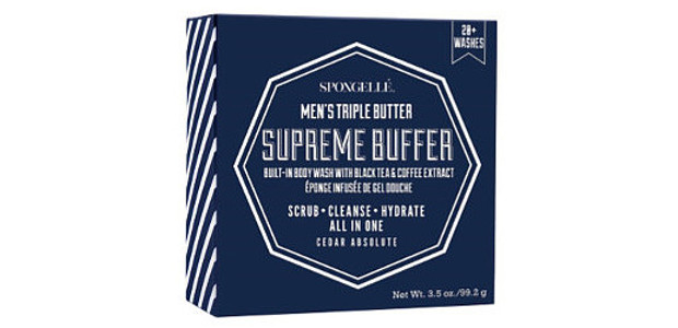 Spongellé Men's Supreme Buffer $18.00 Available Online www.Spongelle.com  FACEBOOK | […]