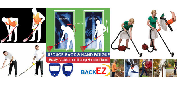 Ergonomic tool grip easily attaches to all long handled tools […]