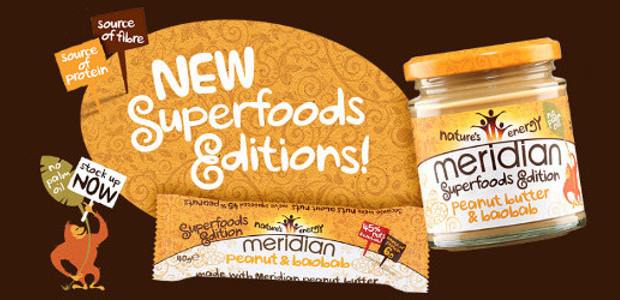 MERIDIAN GOES NUTS ABOUT SUPERFOODS WITH NEW PEANUT BUTTER & […]