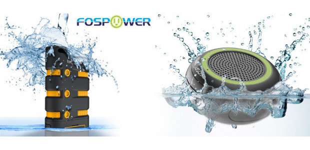 Fospower! USB Power Bank & Waterproof Bluetooth speaker! Made For […]