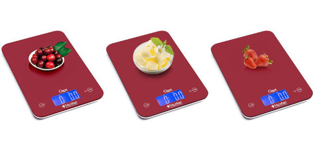 Ozeri Touch II Digital Kitchen Scale with Microban Antimicrobial Product […]