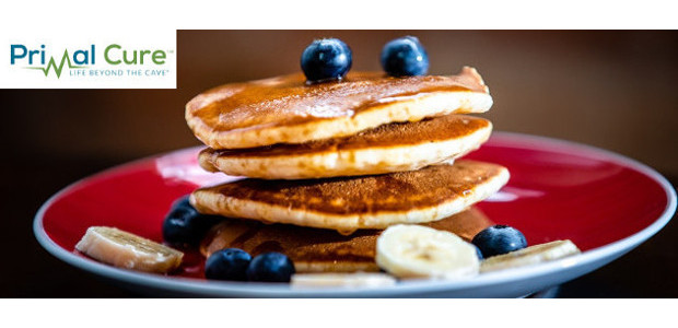 Recipe! Banana & Almond Pancakes! From The recently published cookbook, […]