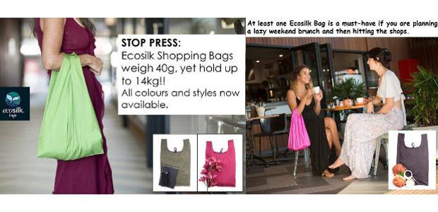 The Ideal Alternative To A Plastic Bag www.ecosilkbags.com.au FACEBOOK ECOSILK […]
