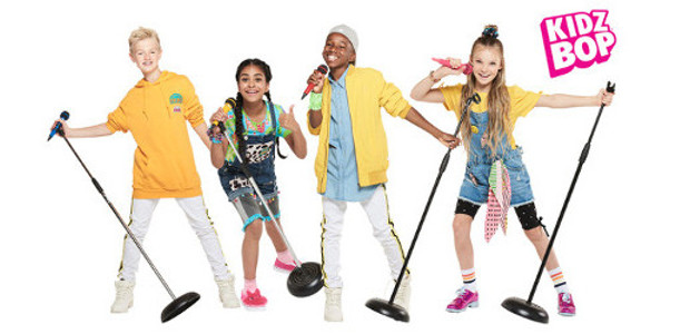 "WORLD'S NO.1 CHILDREN'S MUSIC BRAND ""KIDZ BOP""COUNTS DOWN TO FIRST-EVER […]"