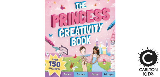 THE PRINCESS CREATIVITY BOOK by Andrea Pinnington >> www.carltonkids.co.uk FACEBOOK […]