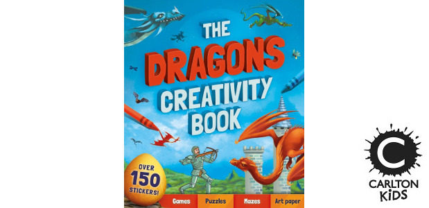 THE DRAGONS CREATIVITY BOOK by Andrea Pinnington >> www.carltonkids.co.uk FACEBOOK […]