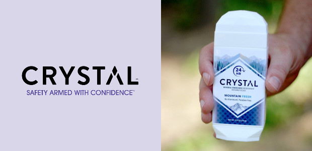 """CRYSTAL Mineral-Enriched Deodorant in Mountain Fresh – for the """"natural"""" […]"""