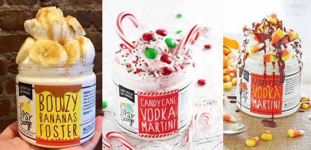 Tipsy Scoop Boozy Ice Cream for Holiday Gifting! How About […]