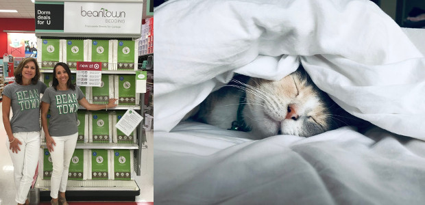 Beantown Bedding… Skip the laundry with innovative Laundry-Free Linens® ! […]