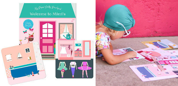 Cozy Pouch Paper Dolls For Children! New >> My Paper […]