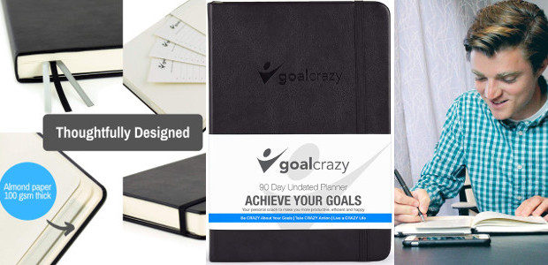 Goal Crazy Undated Planner – 90 Day Guided Journal, Weekly […]
