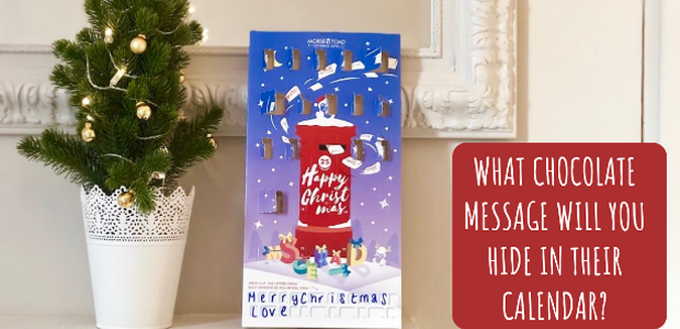 Personalised Chocolate Advent Calendar: What Message Will You Hide Inside? […]