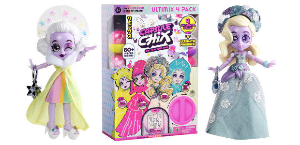 Capsule Chix, a unique fashion doll has launched Ultimix in […]